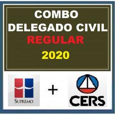 COMBO DELEGADO CIVIL REGULAR - SUPREMO + CERS 2020
