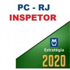 PCRJ - INSPETOR DA POLÍCIA CIVIL DO RIO DE JANEIRO PC RJ - ESTRATÉGIA 2020