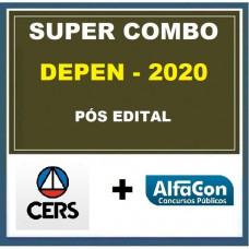 SUPER COMBO DEPEN PÓS-EDITAL (CERS + ALFACON)- AGENTE FEDERAL DE EXECUÇÃO PENAL - 2020