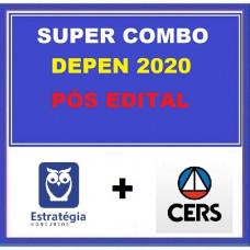 SUPER COMBO DEPEN PÓS-EDITAL (ESTRATÉGIA + CERS)- AGENTE FEDERAL DE EXECUÇÃO PENAL - 2020