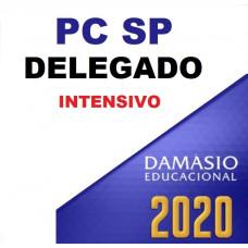 PC SP - DELEGADO DA POLÍCIA CIVIL DE SÃO PAULO - PCSP - DAMÁSIO - INTENSIVO 2020