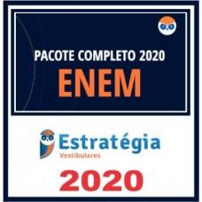 RATEIO ENEM 2020 - ESTRATEGIA - PACOTE COMPLETO