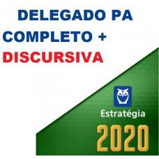 PC PA - DELEGADO DA POLÍCIA CIVIL DO PARÁ - PCPA - CURSO COMPLETO + DISCURSIVA - ESTRATÉGIA - 2020