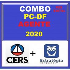 PC DF - COMBO AGENTE PCDF  - PÓS EDITAL- CERS + ESTRATÉGIA 2020