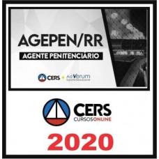 AGEPEN RR - PÓS EDITAL - CERS 2020