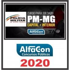 SOLDADO PM MG (POLICIA MILITAR DE MINAS GERAIS - PMMG) ALFACON 2020