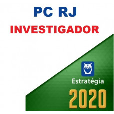 PCRJ - INVESTIGADOR DA POLÍCIA CIVIL DO RIO DE JANEIRO PC RJ - ESTRATÉGIA 2020 -  AOCP