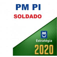 SOLDADO - PM PI ( POLÍCIA MILITAR DO PIAUÍ - PMPI) - ESTRATEGIA 2020