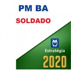 SOLDADO - PM BA ( POLÍCIA MILITAR DA BAHIA - PMBA) - ESTRATEGIA 2020